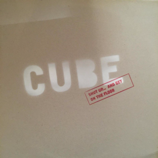 "Cube - Shut Up... And Get On The Floor EP (12"") (Promo) (EX/EX)"